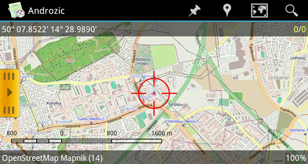 Aplikace pro Android: ANDROZIC