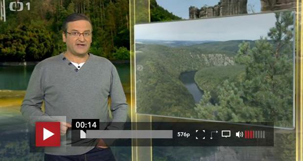 Vltavské vyhlídky vToulavé kameře