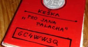"""Keška """"Pro Jana Palacha"""""""
